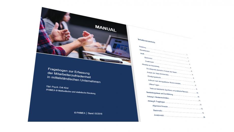 Ausführliches Handbuch zum Fragebogen